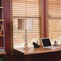 Using Wood Blinds to Create an Elegant Room or Office