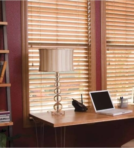 normandy-wood-blinds-in-office